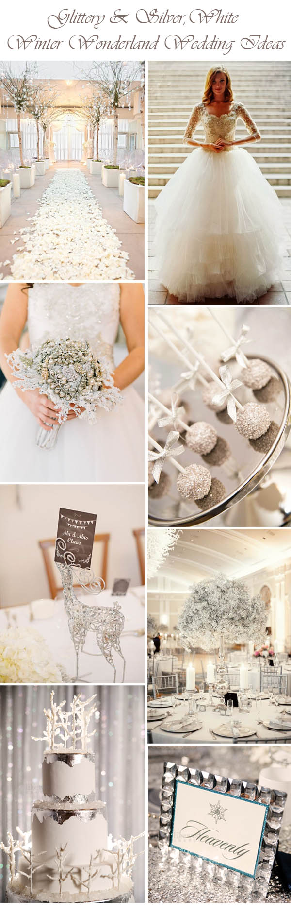 35 Breathtaking Winter Wonderland Inspired Wedding Ideas ...