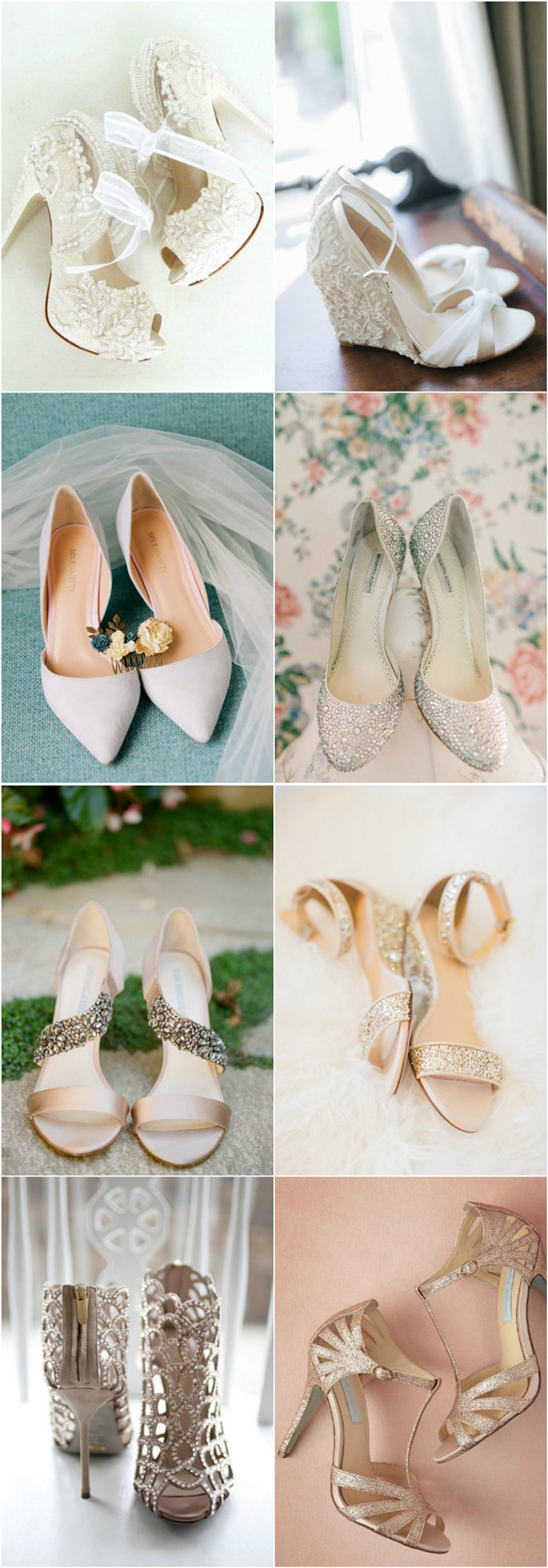 20 Most Wanted Wedding Shoes For Stylish Brides