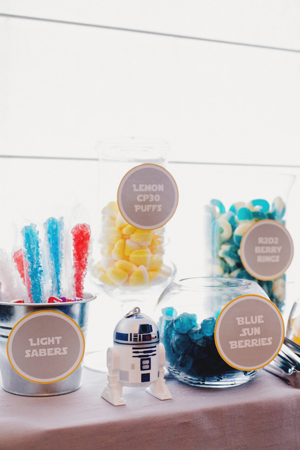 star wars inpiration candy bar ideas for your wedding