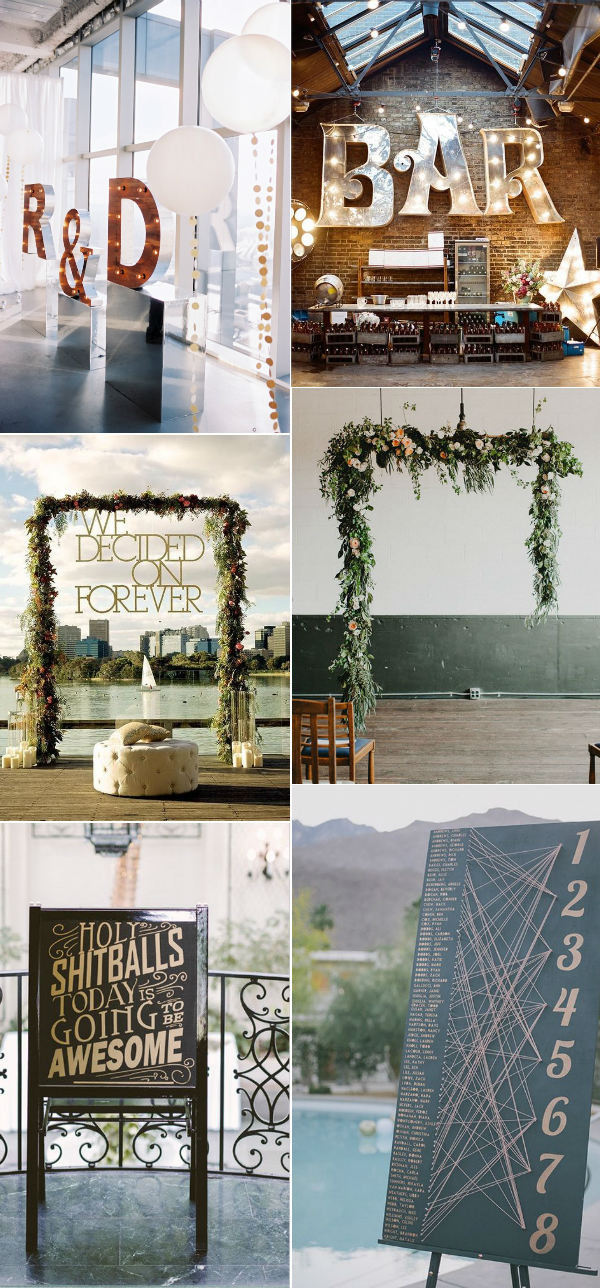 wonderful modern wedding decoration ideas for creative brides