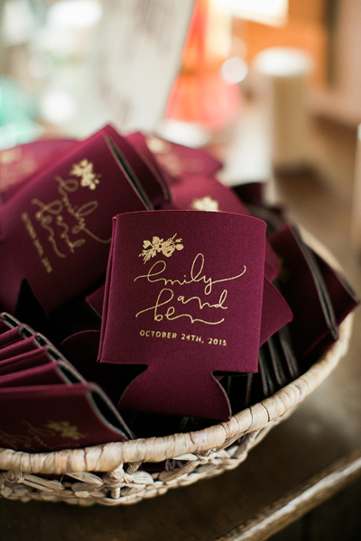 23 Most Creative Wedding Favor Koozies Ideas For Your