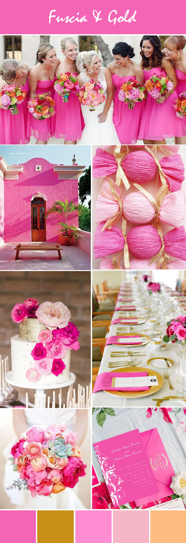 Having a Pink Theme Wedding for Your Special Day ...