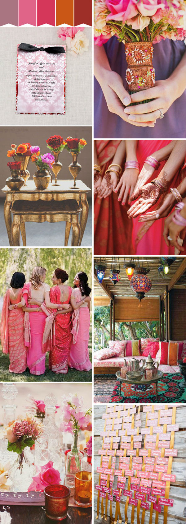 red Indian summer wedding inspiration for 2016 brides