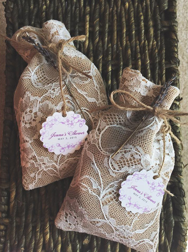 Top 20 Country Rustic Lace and Burlap Wedding Ideas (Including ...