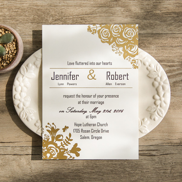 affordable-traditional-gold-foil-floral-wedding-card-EWFI014