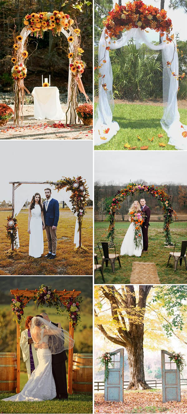 Fall In Love With These 50+ Great Fall Wedding Ideas