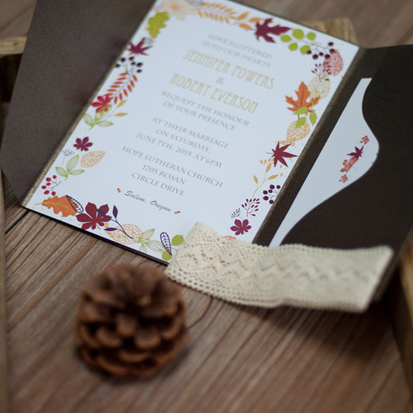 fall-maple-leave-rustic-lace-pocket-wedding-invitation-EWPI184