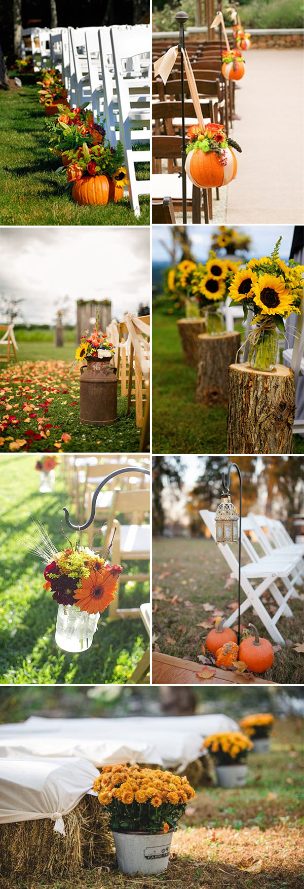 autumn wedding decor fall in with these 50 great fall wedding ideas 1400