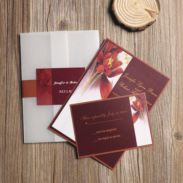 red-flower-country-pocket-wedding-party-invitations-EWPI088