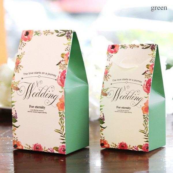 Chic Floral Wedding Favors
