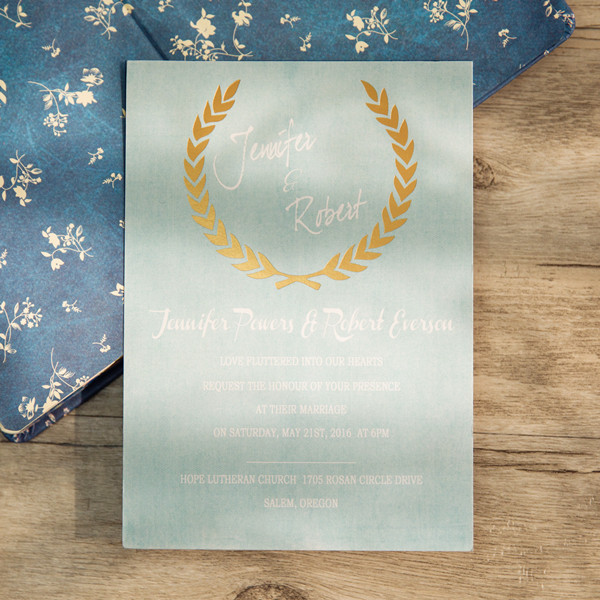 shades-of-blue-green-foil-stamped-leave-invite-EWFI010