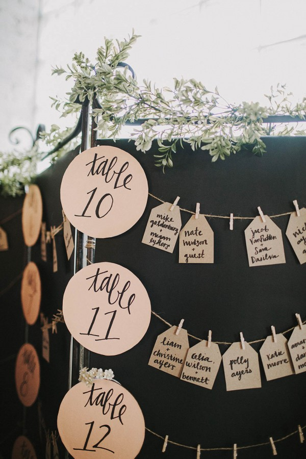Unique Wedding Seating Chart Ideas