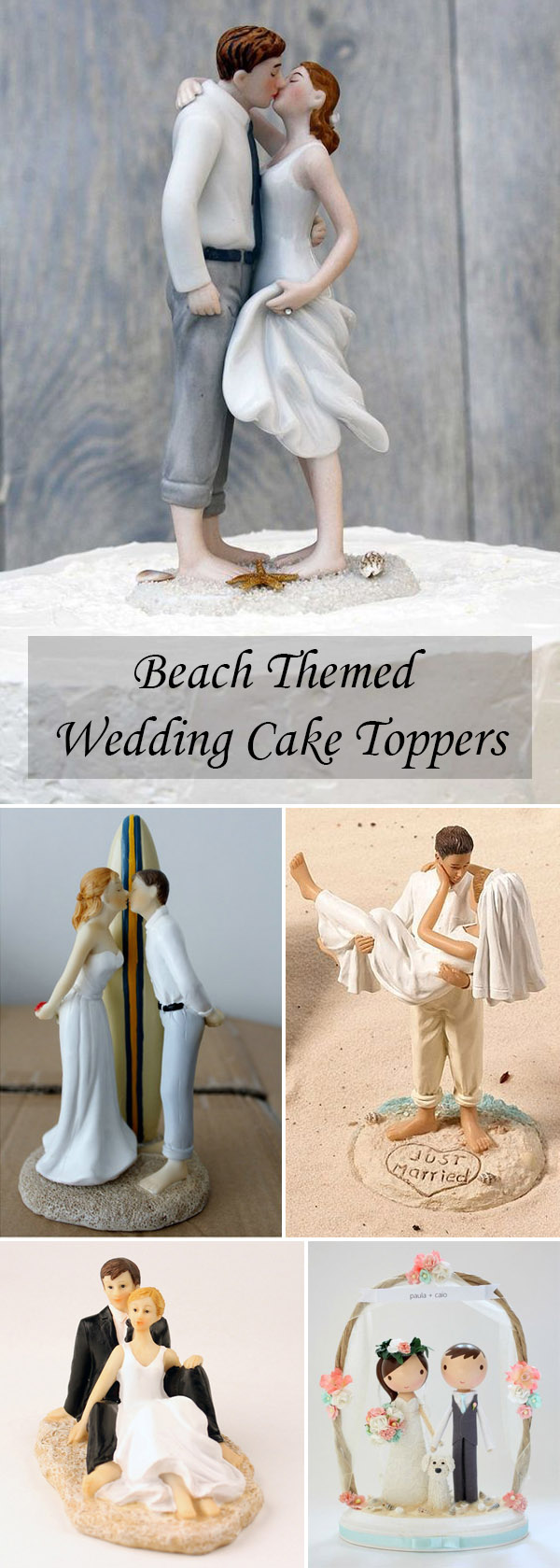 Different And Funny Wedding Gifts And Cake Toppers