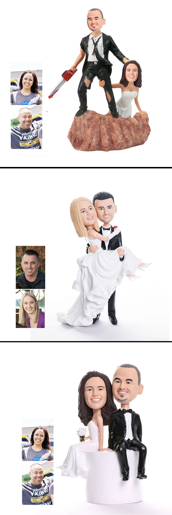personalized bobblehead wedding cake toppers different and wedding gifts and cake toppers 6475