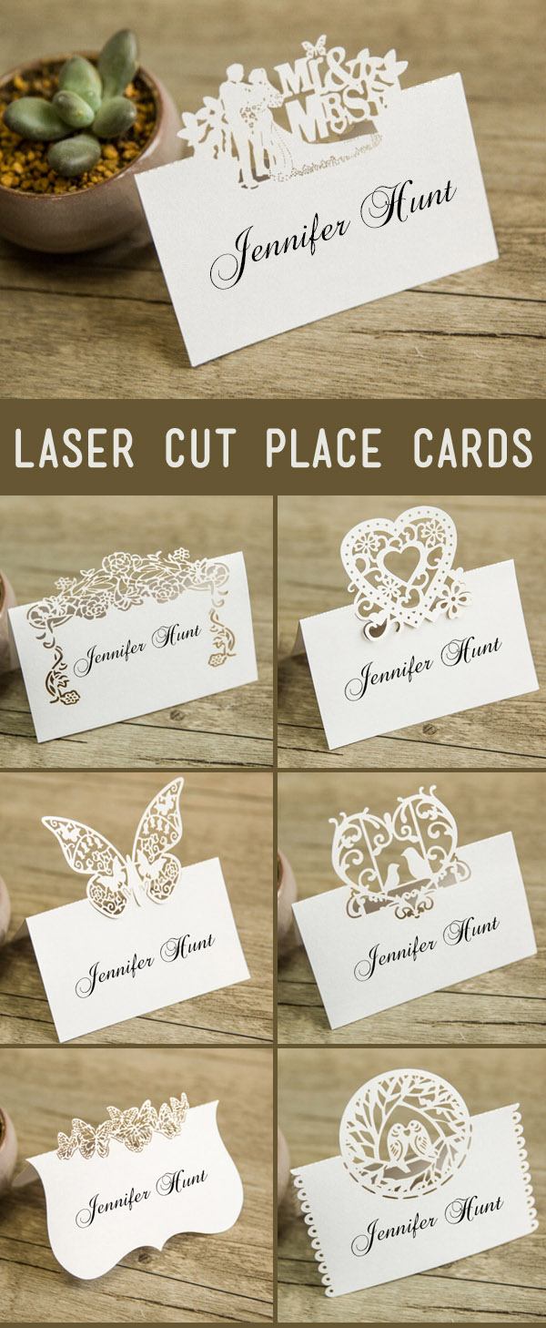 21 unique wedding escort cards place cards ideas Unique place card ideas