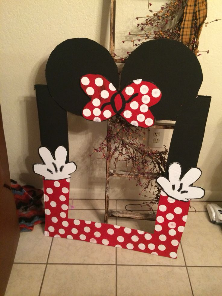 Diy Minnie Mouse Decoration Ideas DIY Unixcode