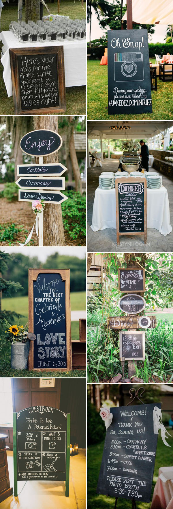 40 Stealworthy Chalkboard Wedding Ideas