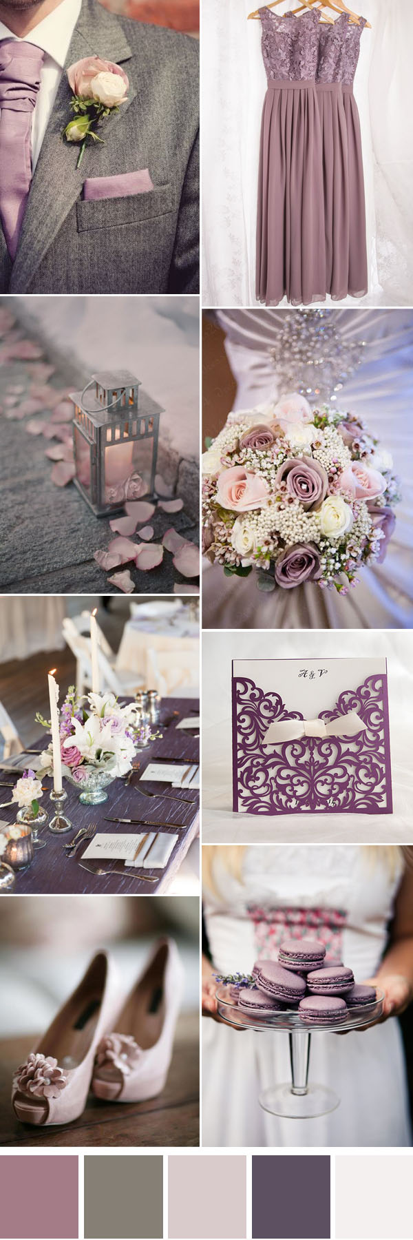7916c247b2 Six Gorgeous Neutral Wedding Color Combos To Inspire You ...