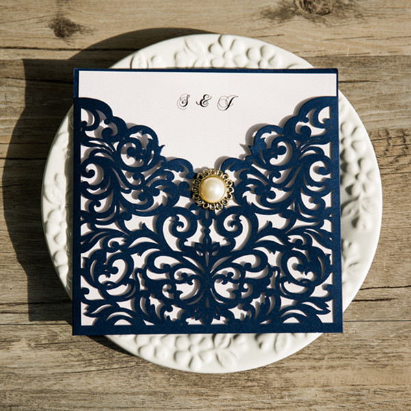 navy-blue-laser-cut-pearl-wedding-invitations-EWWS066
