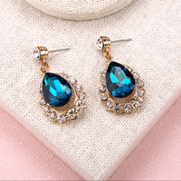 ocean-blue-rhinestone-gemstone-drop-earrings-for-wedding-EWAER026