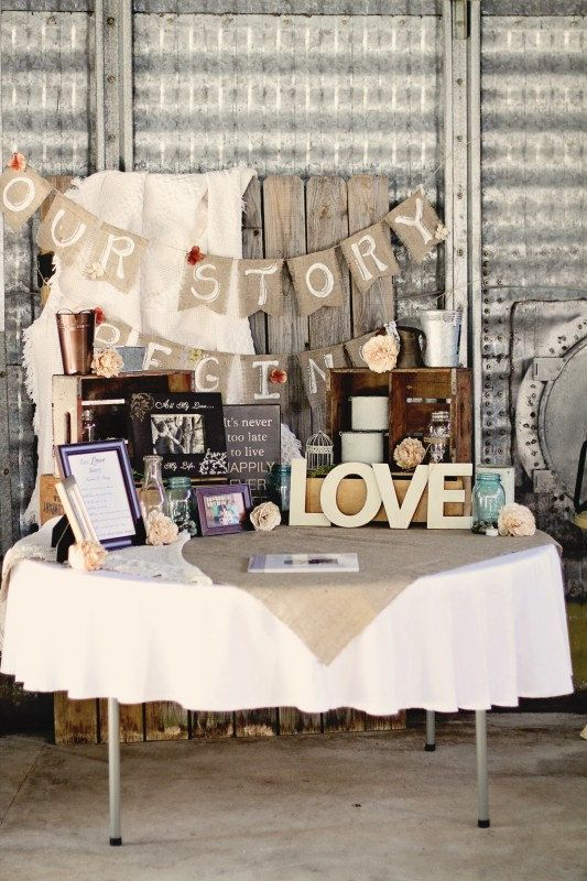 The most complete burlap rustic wedding ideas for your inspiration rustic barn wedding table decor with burlap junglespirit Choice Image