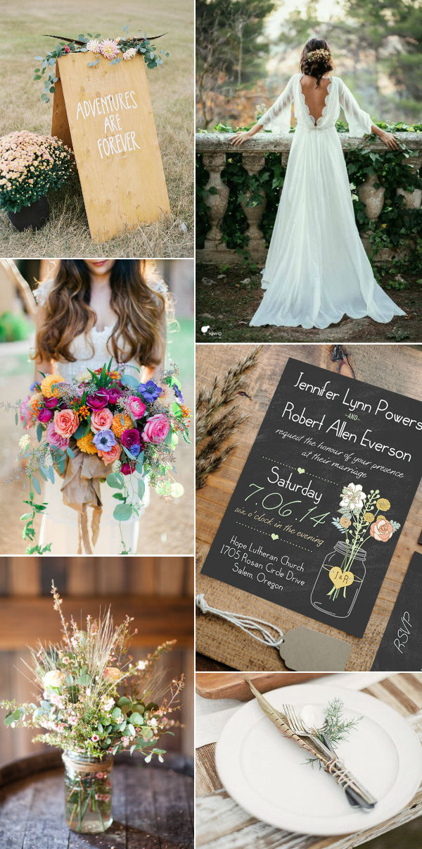 59 Incredibly Simple Rustic Décor Ideas That Can Make Your: Five Rustic Wedding Themes With Mason Jars