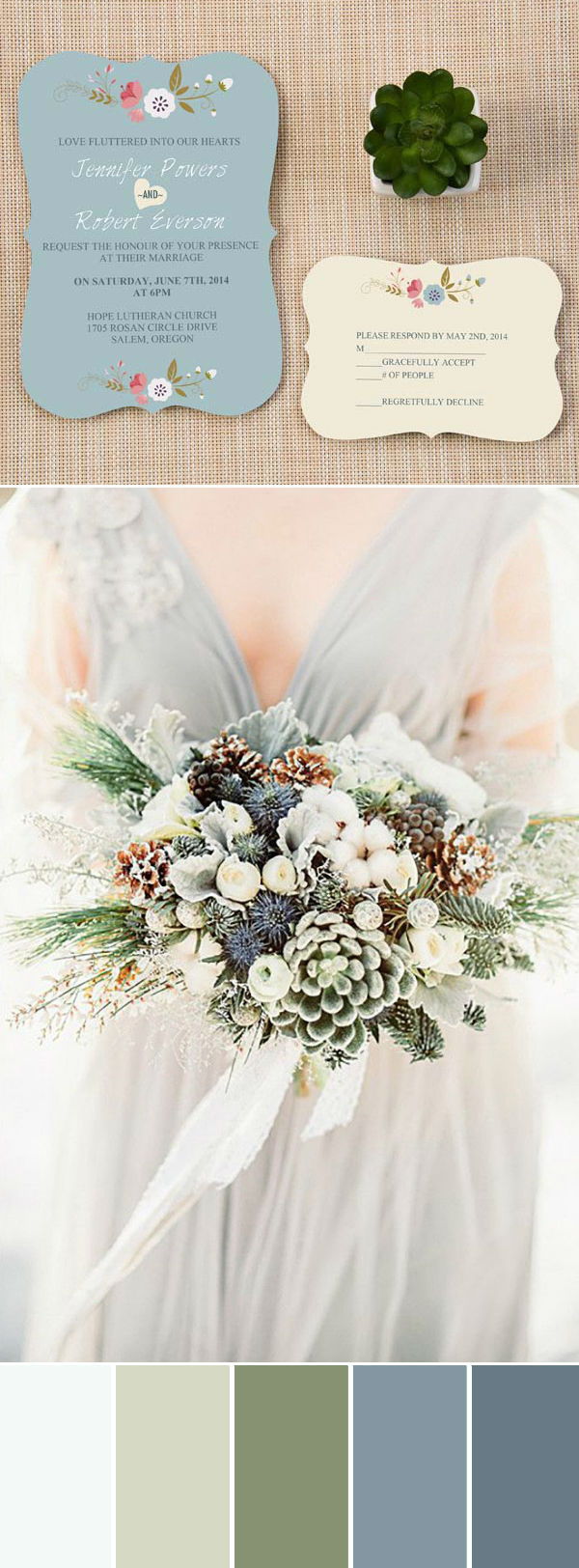TOP 7 Rustic Neutral Wedding Color Palettes For Fall ...