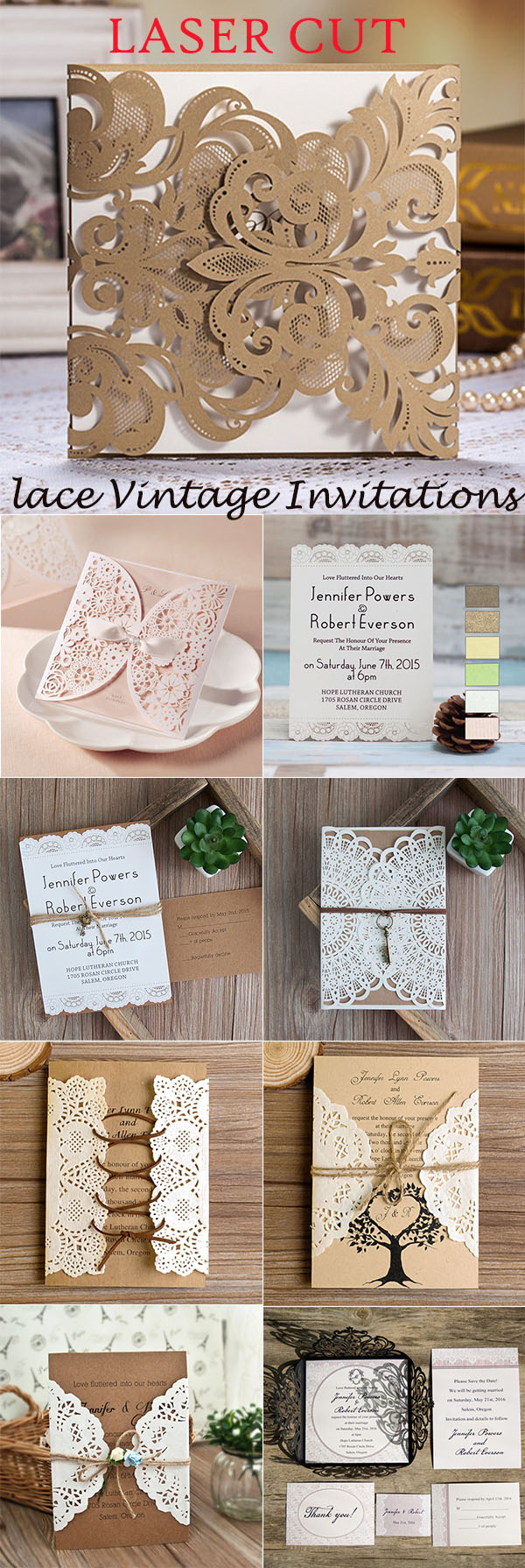 50+ Great Ideas to Incoporate Lace Into Your Vintage Weddings ...