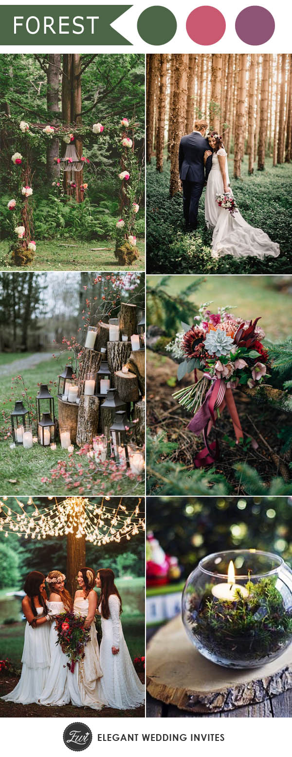 Whismical Forest And Woodland Wedding Inspiration For 2018