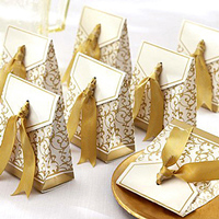 Noble-Gold-Yellow-Damask-Wedding-Favor-Boxes-EWFB055