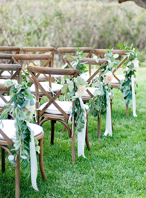 2017 wedding trends top 30 greenery wedding decoration ideas chic rustic wedding aisle decoration ideas for 2017 junglespirit Images