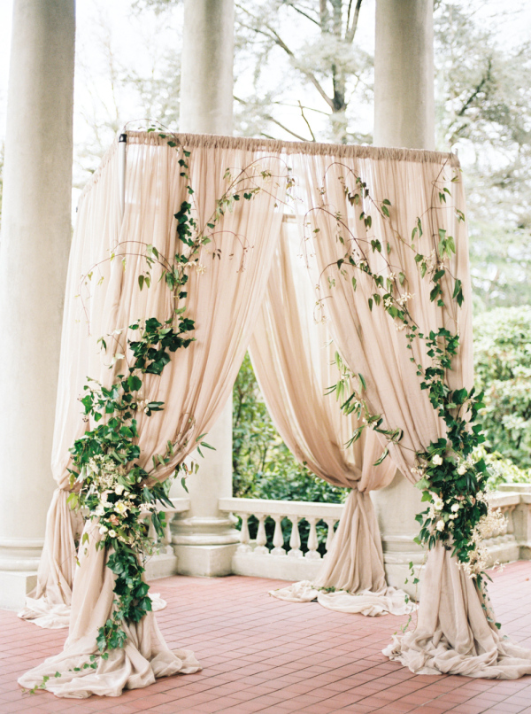 2017 wedding trends top 30 greenery wedding decoration ideas elegant greenery and blush wedding arch ideas junglespirit Choice Image