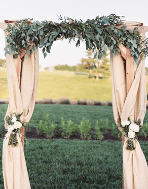 2017 wedding trends top 30 greenery wedding decoration ideas greenery wedding arch ideas for country weddings junglespirit Choice Image