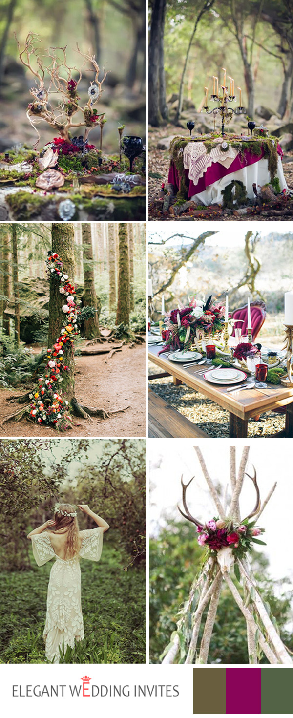 bohemian wedding decorations top 8 fantastic wedding themes trends for 2017 1999