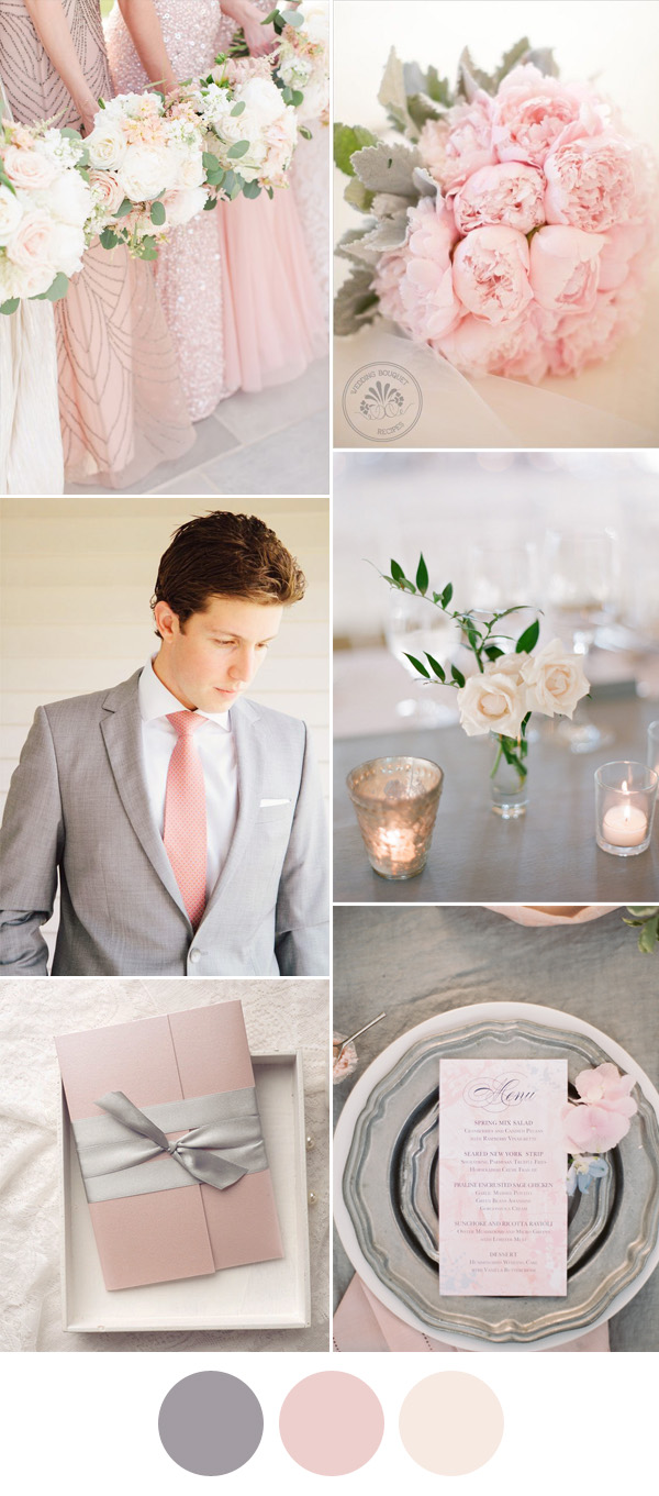 Spring wedding colors schemes