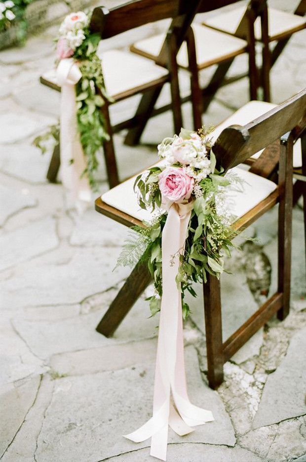 fun ways to incorporate ribbon wedding decor into your ceremony