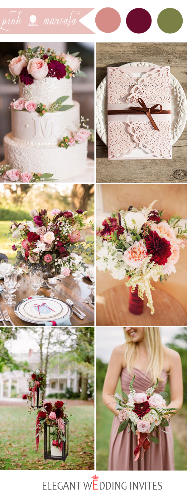 48 perfect pink wedding color combination ideas for The best wedding decorations