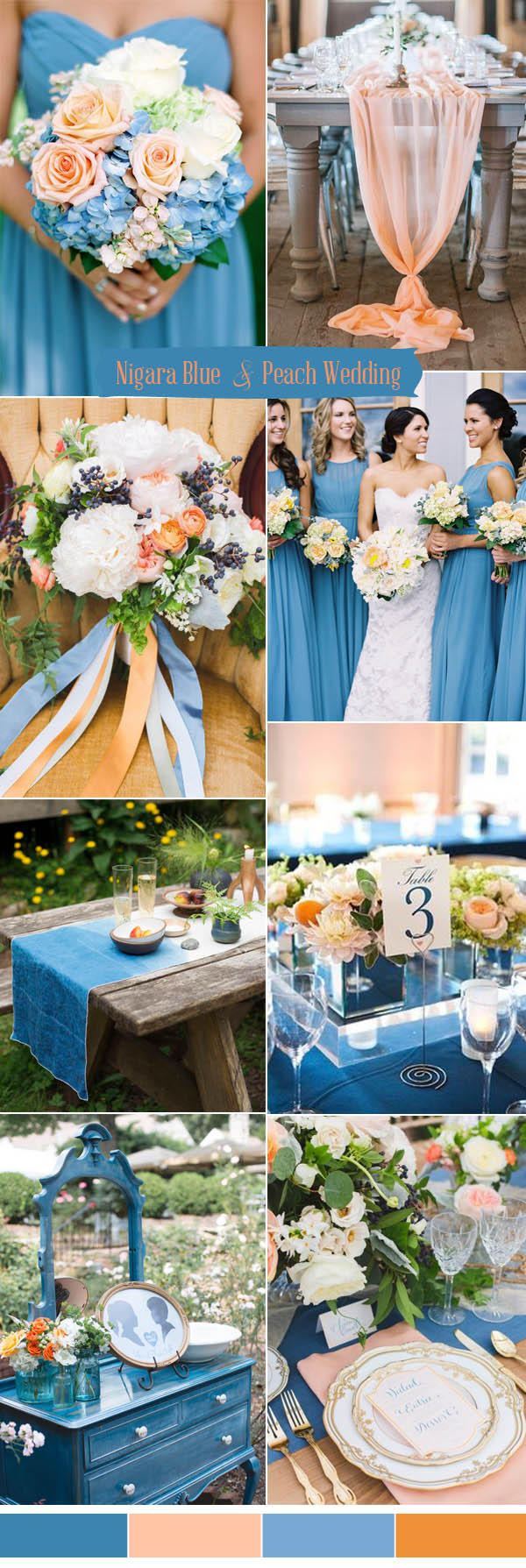 Ten Prettiest Shades of Blue for 2017 Wedding Color Ideas ...