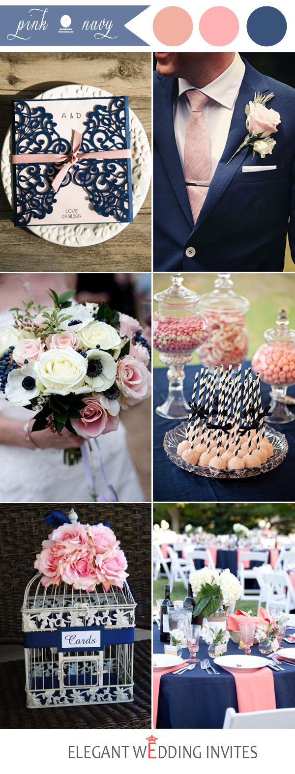 48 Perfect Pink Wedding Color Combination Ideas
