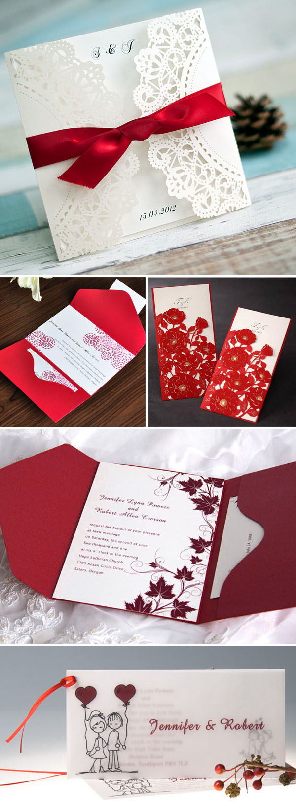 40 Inspirational Classic Red and White Wedding Ideas ...