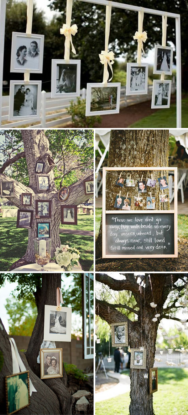 wedding ideas to honor those who have passed