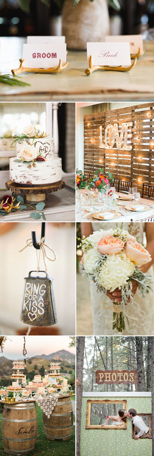 chic rustic wedding themes ideas for 2017