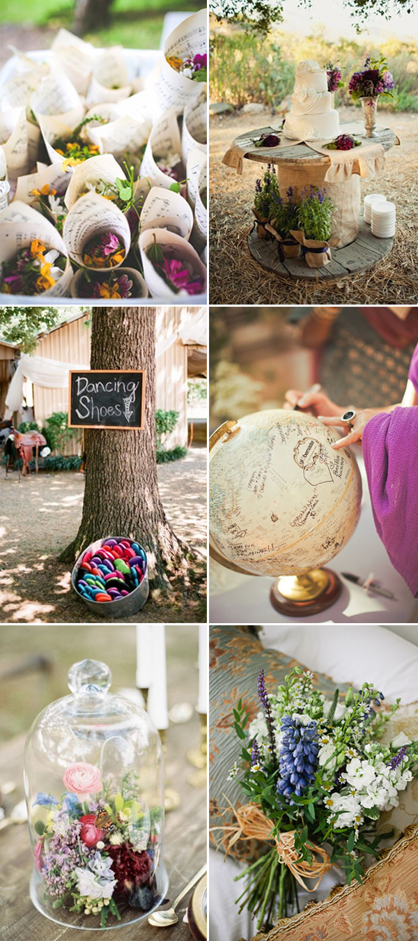 country wedding themes inspiration for 2017 trends