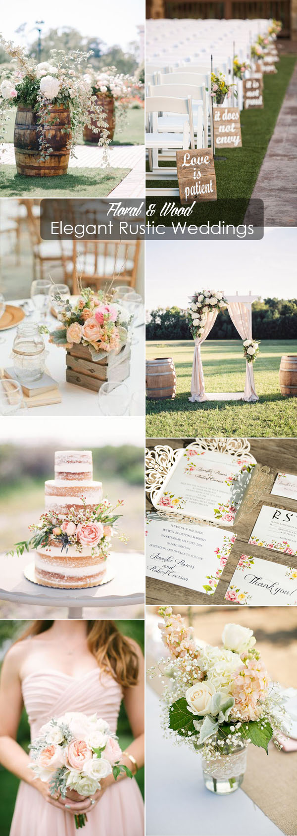 40 Rustic Wedding Ideas With Elegant Details
