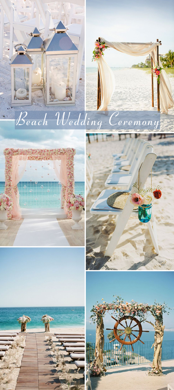 wedding ceremony decorations for 2017 summer beach
