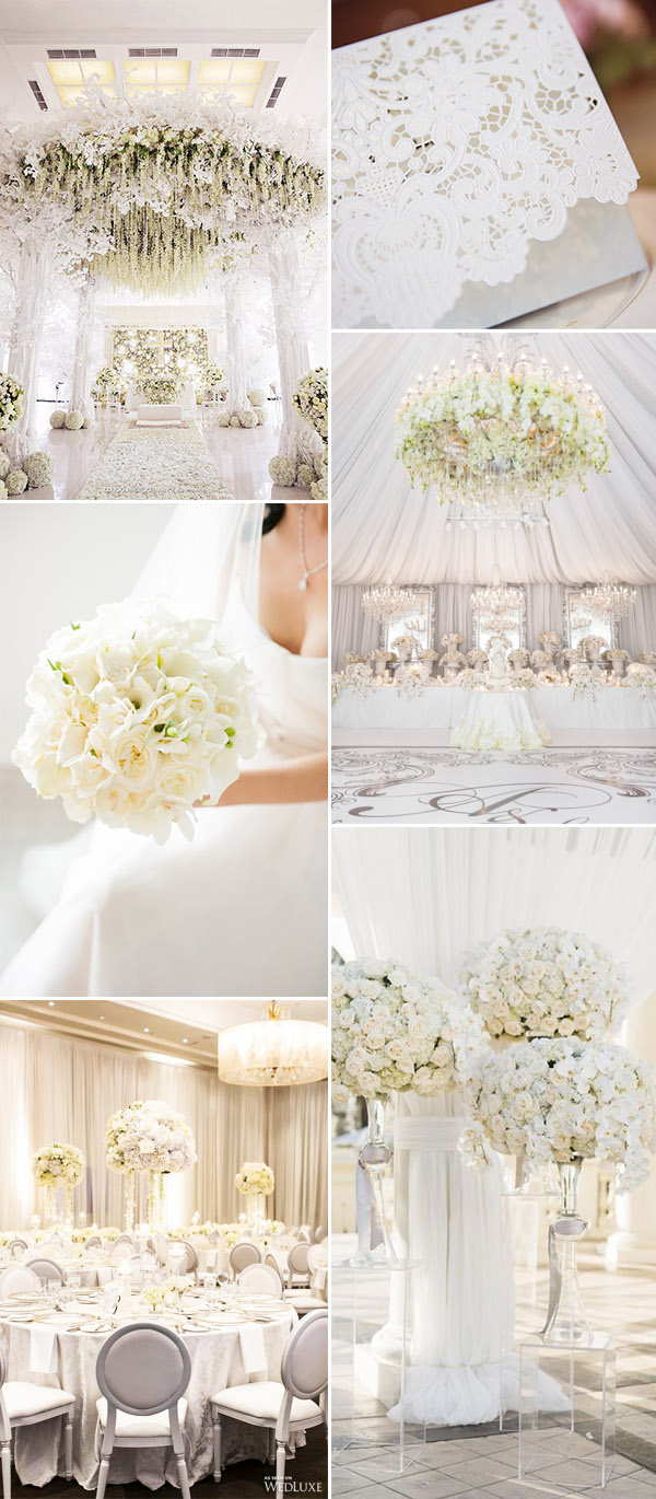 50+ Brilliant Ideas for Glamorous and Bling Weddings