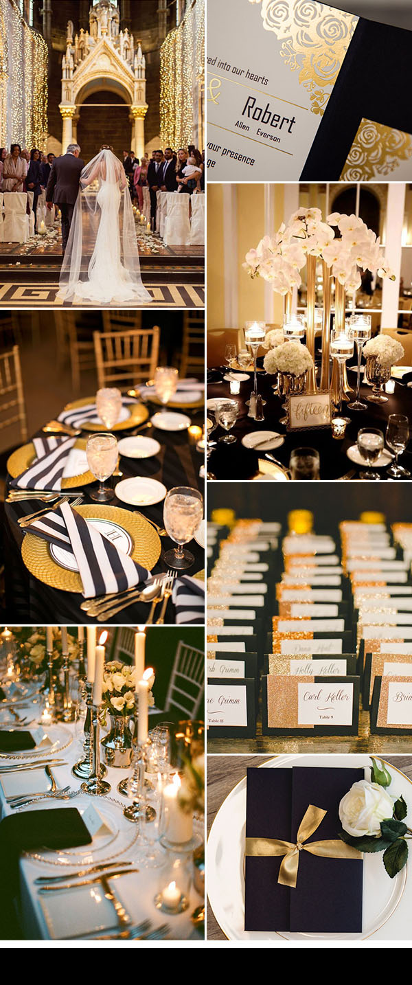 50 Brilliant Ideas For Glamorous And Bling Weddings