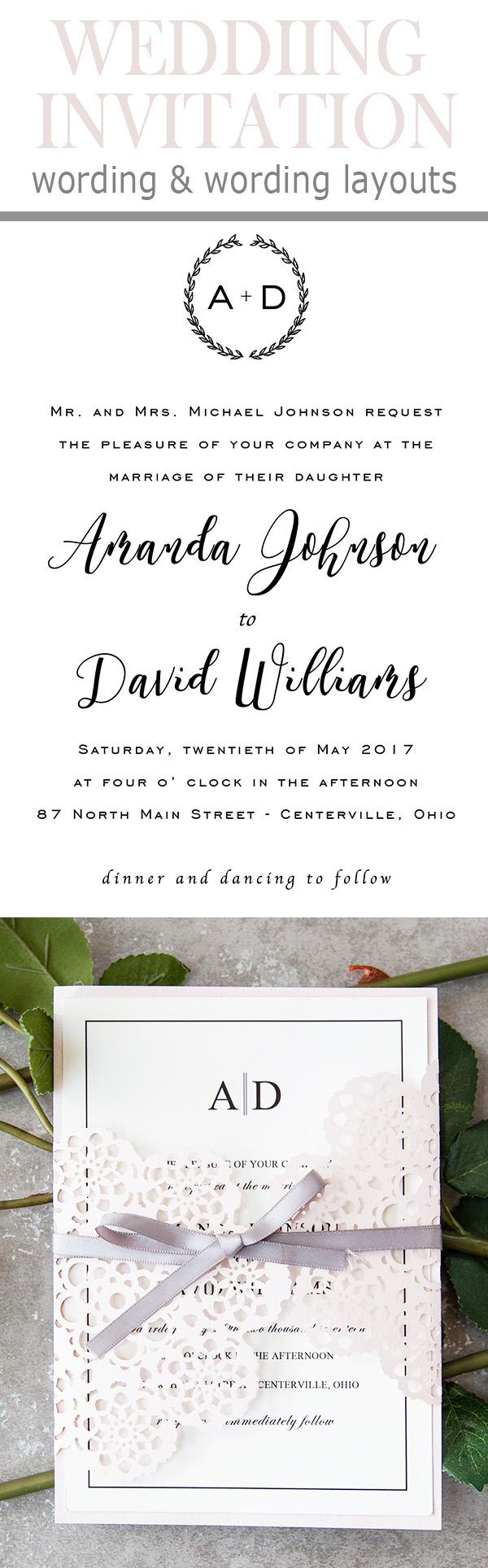 invitation word template