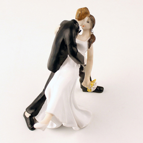 Kiss themed Bride Figurine Wedding Cake Decor Toppers