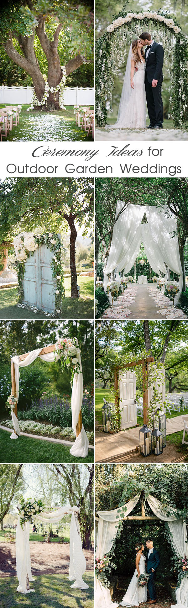 30 Sweet Ideas For Intimate Backyard Outdoor Weddings ...